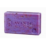 Lavender Soap with Flowers  Almond Oil 100g