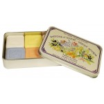 Assorted Fragrances- Guest Soaps  6 x 25g in Tin