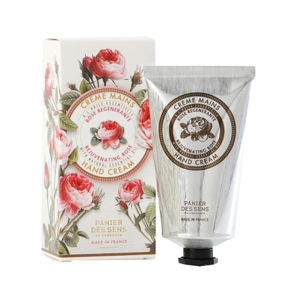 panier des sens hand cream with rose 75ml. Black Bedroom Furniture Sets. Home Design Ideas