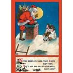 CHRISTMAS SANTA Scented Sachet, Cinnamon & Clove
