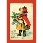 CHRISTMAS GIRL Scented Sachet, Cinnamon  & Clove