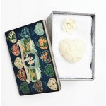 Gift Face Towel in Metal Tin with scented stone